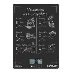 Кухонные весы Scarlett SC-KS57P64 ( Скидка 30% )